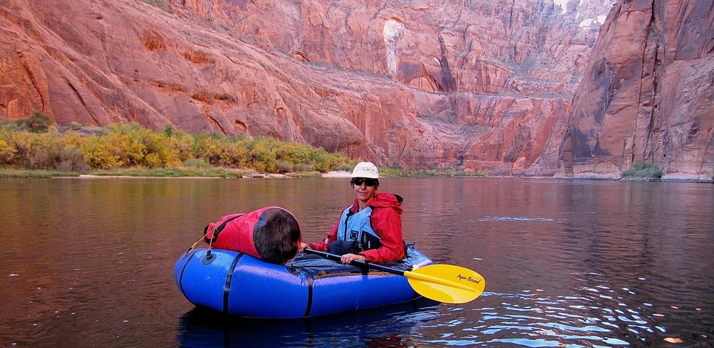 In Glen Canyon, Colorado River, Arizona