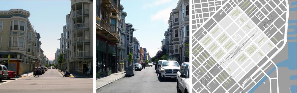 Alleys in SoMa