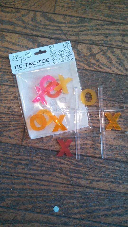 Tic Tac Toe Travel set $15