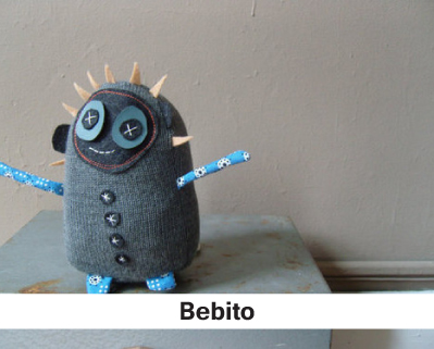 Bebito, stuffed animals, kids gifts, handmade stuffed animals