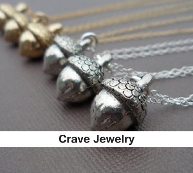 acorn necklaces, silver necklaces, gold necklaces, fall inspired gifts