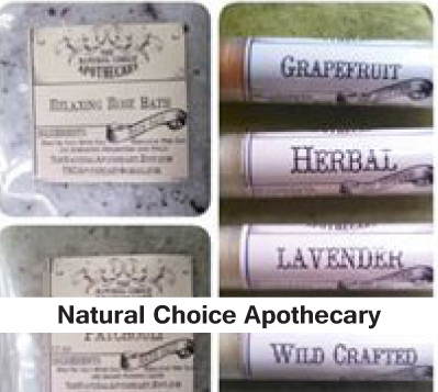 Natural products lip gloss, lip chap, soap, body spray oils
