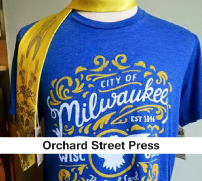 screenprint Tshirts, milwaukee tshirts, mens and womens tshirts