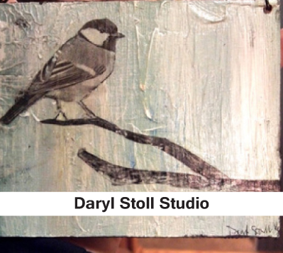 Daryl Stoll Studio, bird art, nature art, local art, milwaukee art