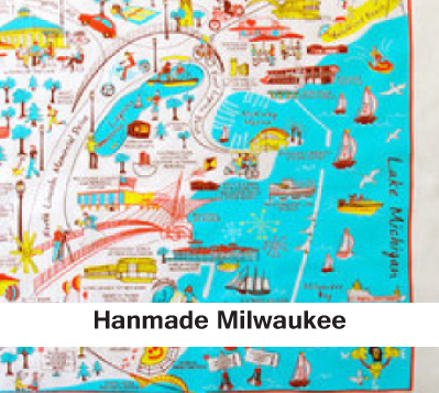 Hanmade Milwaukee, miilwaukee prints, milwaukee puzzles, milwaukee napkins, local gifts
