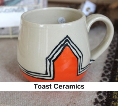 ceramic dishes, mugs cups bowls, and home goods that are homemade handcrafted