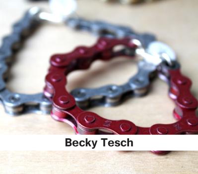 Becky Tesch, metal bracelets, mens jewelry