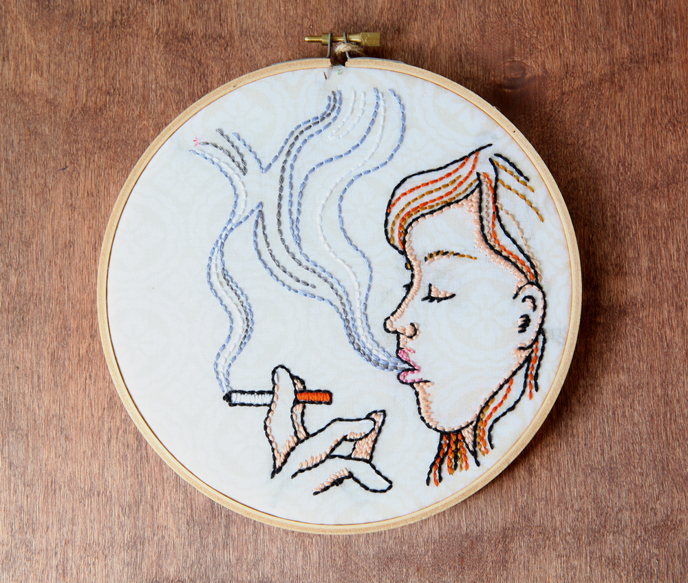 Smoker, $40.