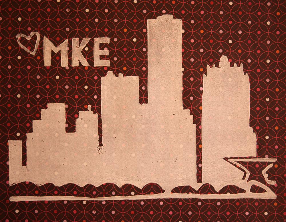 MKE Block Print, $15.