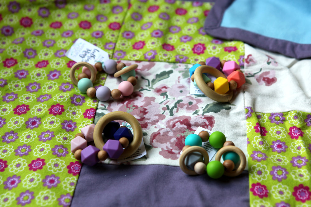 Teething Rings by Wandering Mom, $15.
