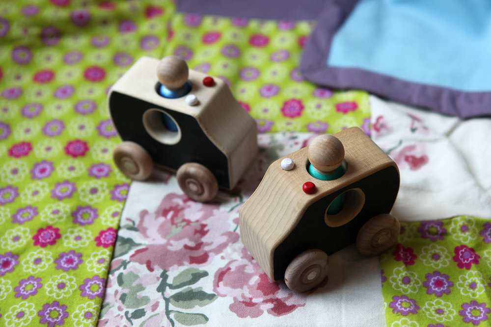 Wooden Emergency vehicles $20