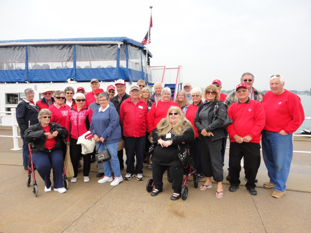 Cruising the St. Clair River - June 2015 outing at Mooretown Park