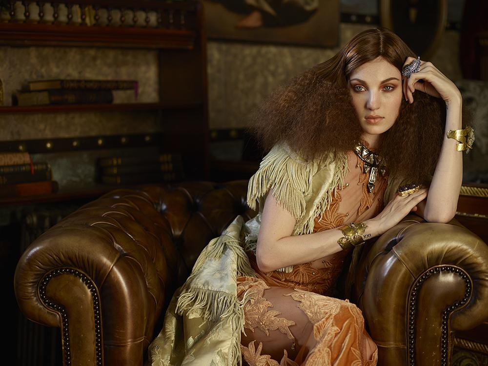 Model: Annabelle L Stylist: Leonid Gurevich Hair: Lorenzo Diaz Makeup: Aya Kudo Stylist's assistant: Marina Gurevich