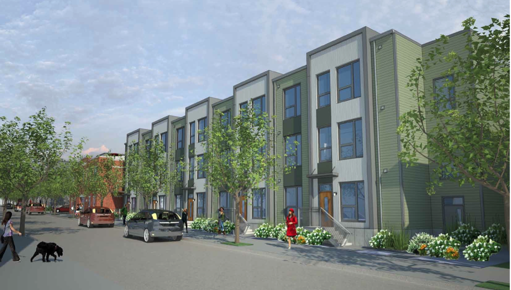 Standard Box Apartments Rendering