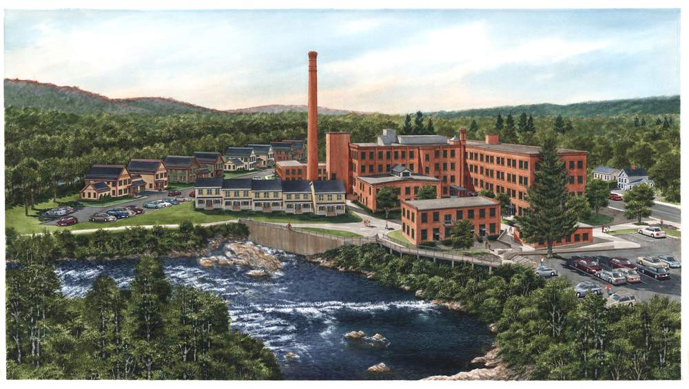 Cable Mills Rendering