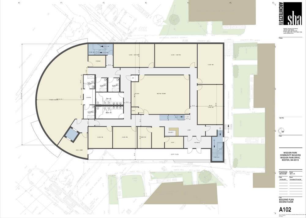 Roxbury Tenants of Harvard Community Center Floorplan