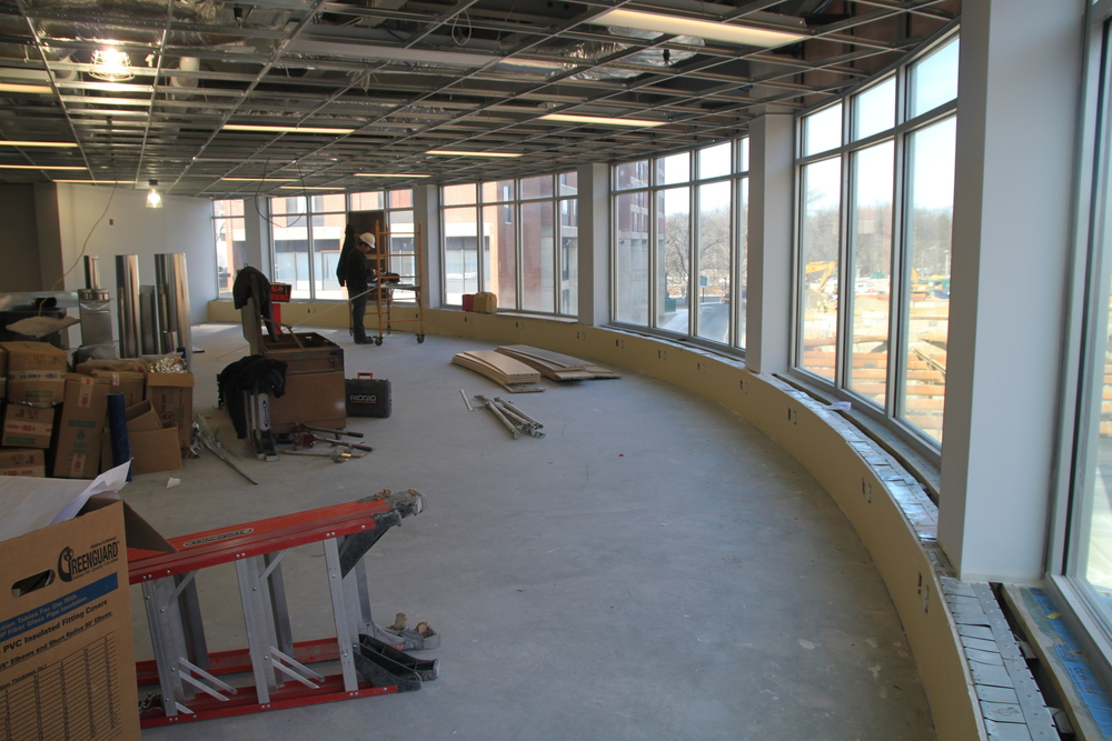 Wellness Center Progress
