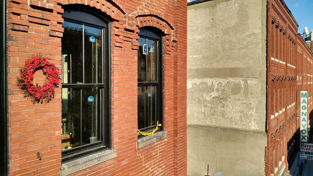 New windows installed at J.M. Lofts in Haverhill, MA.