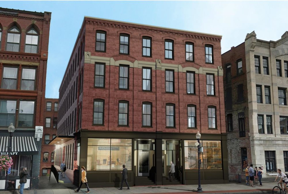 Rendering of 87 Washington, Haverhill
