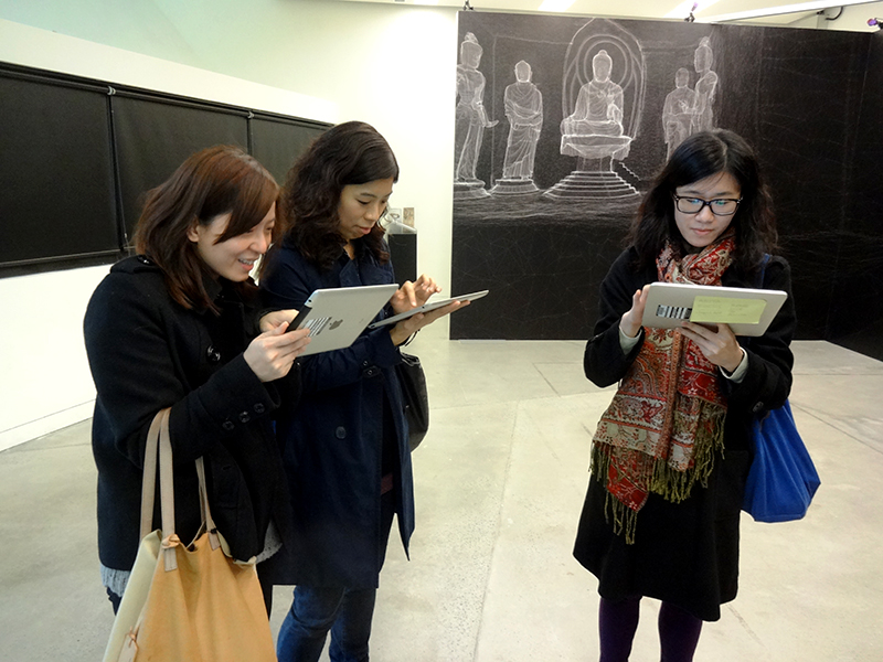iShoU iPad Application at the 2012 Nodem Conference Hong Kong - Run Run Shaw Creative Media Centre, City University