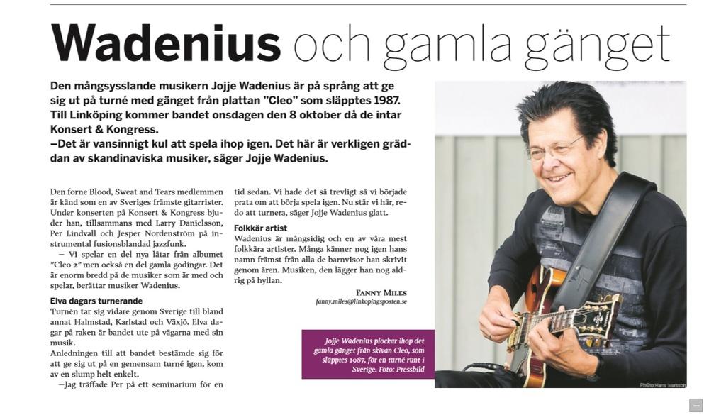 Wadenius och gamla gänget - Linköpingsposten 1 okt 2014.jpg