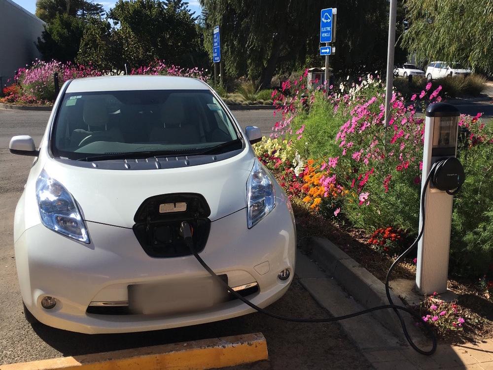 Rented Nissan Leaf