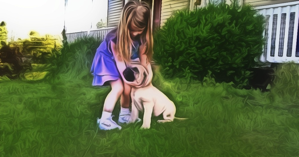 leah with puppy in front of house poster.jpg