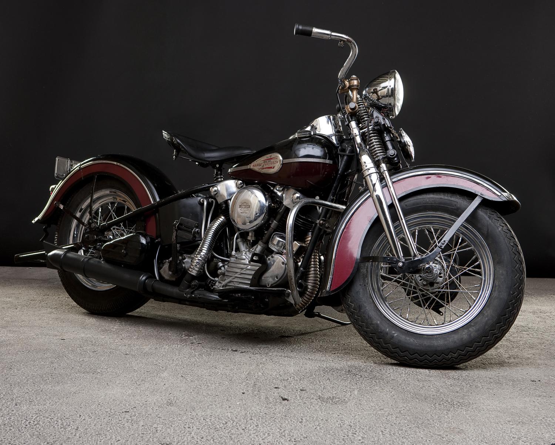 Harley Davidson: HardSun Motorcycles: 1946 Harley Davidson Knucklehead