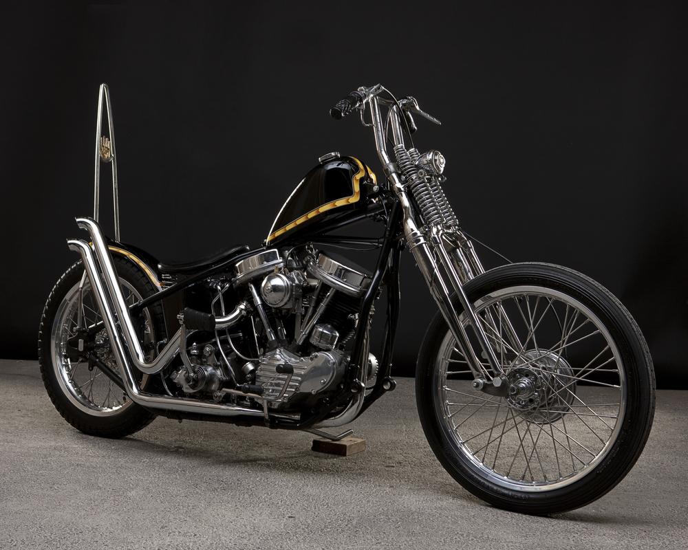 Harley Davidson: 1955 Harley Davidson FL Panhead, 1949 Frame