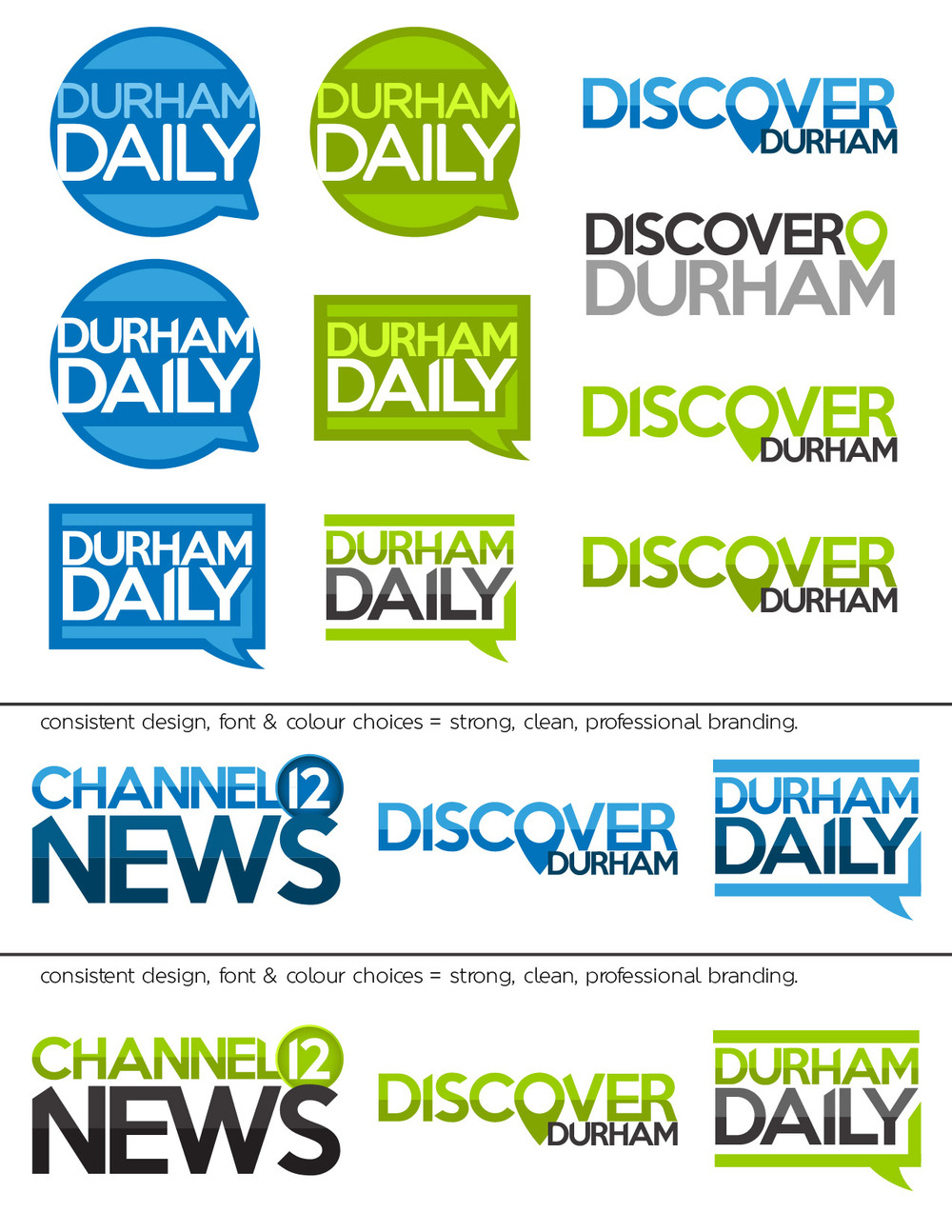 Conceptual work for Durham's Channel 12 - not in use (yet).