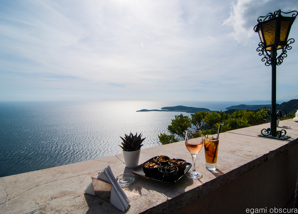 Cocktail in Eze