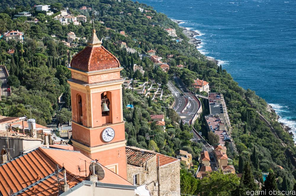 Clocktower in Roquebrune