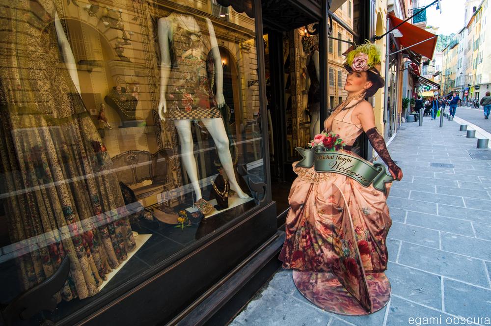 2-D mannequin in Nice