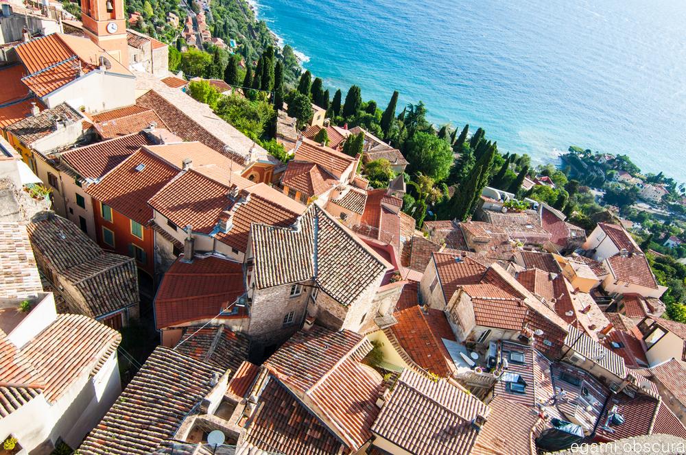 Rooftops of Roquebrune