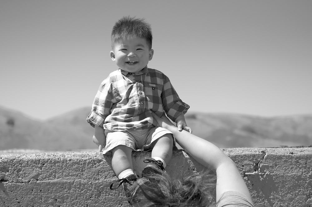 A pure smile