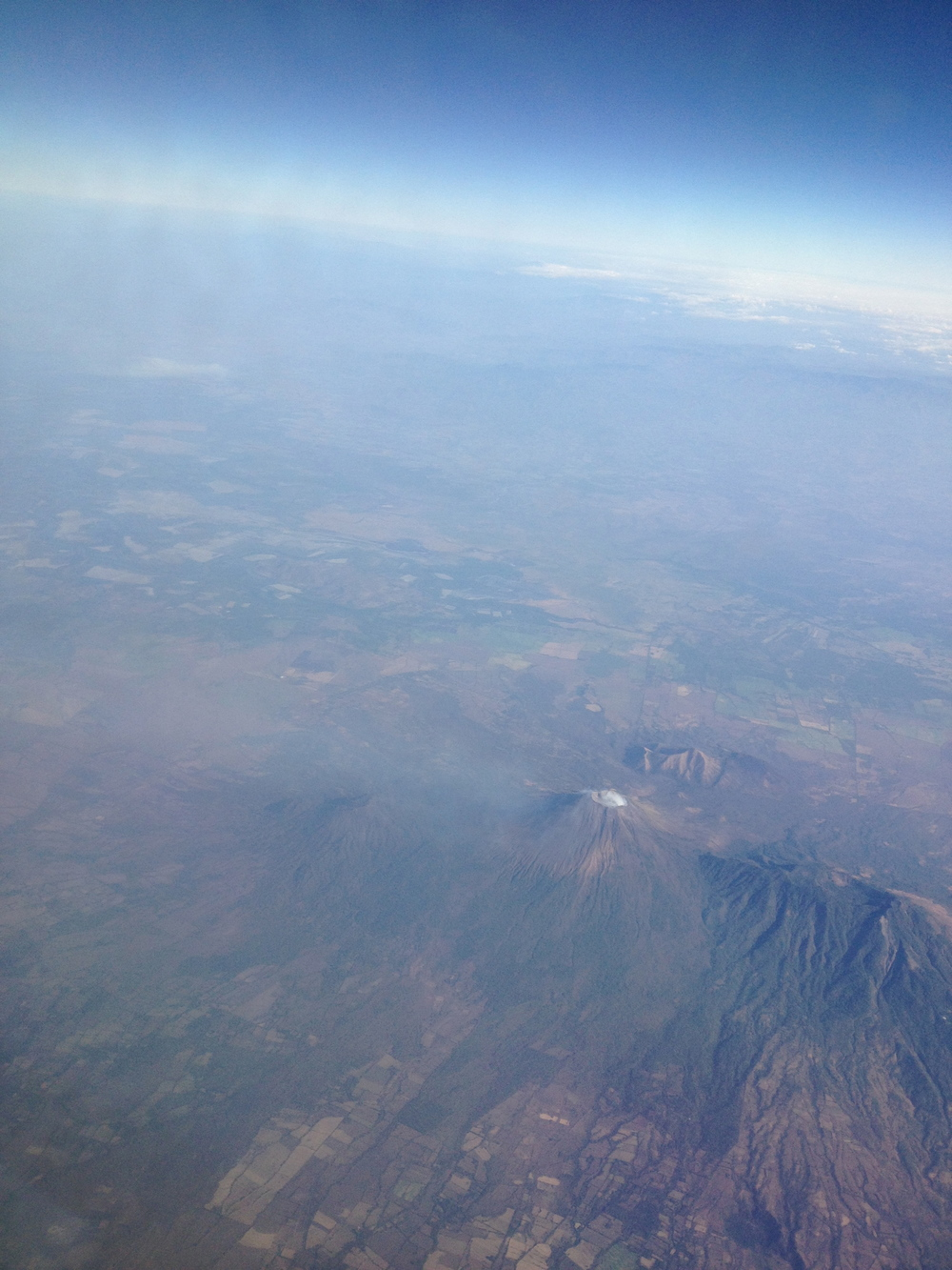 Volcano's over Costa Rica Lucinda Anne (Luci Butler)