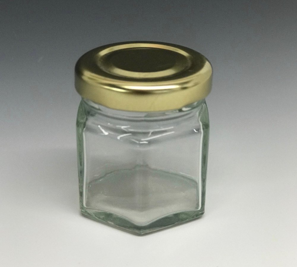 Glass jar - To store and use Gamsol, we use a small glass jar. You can also use a jar for dipping your brush in Liquin, but most students put a small amount of Liquin out on the palette instead.