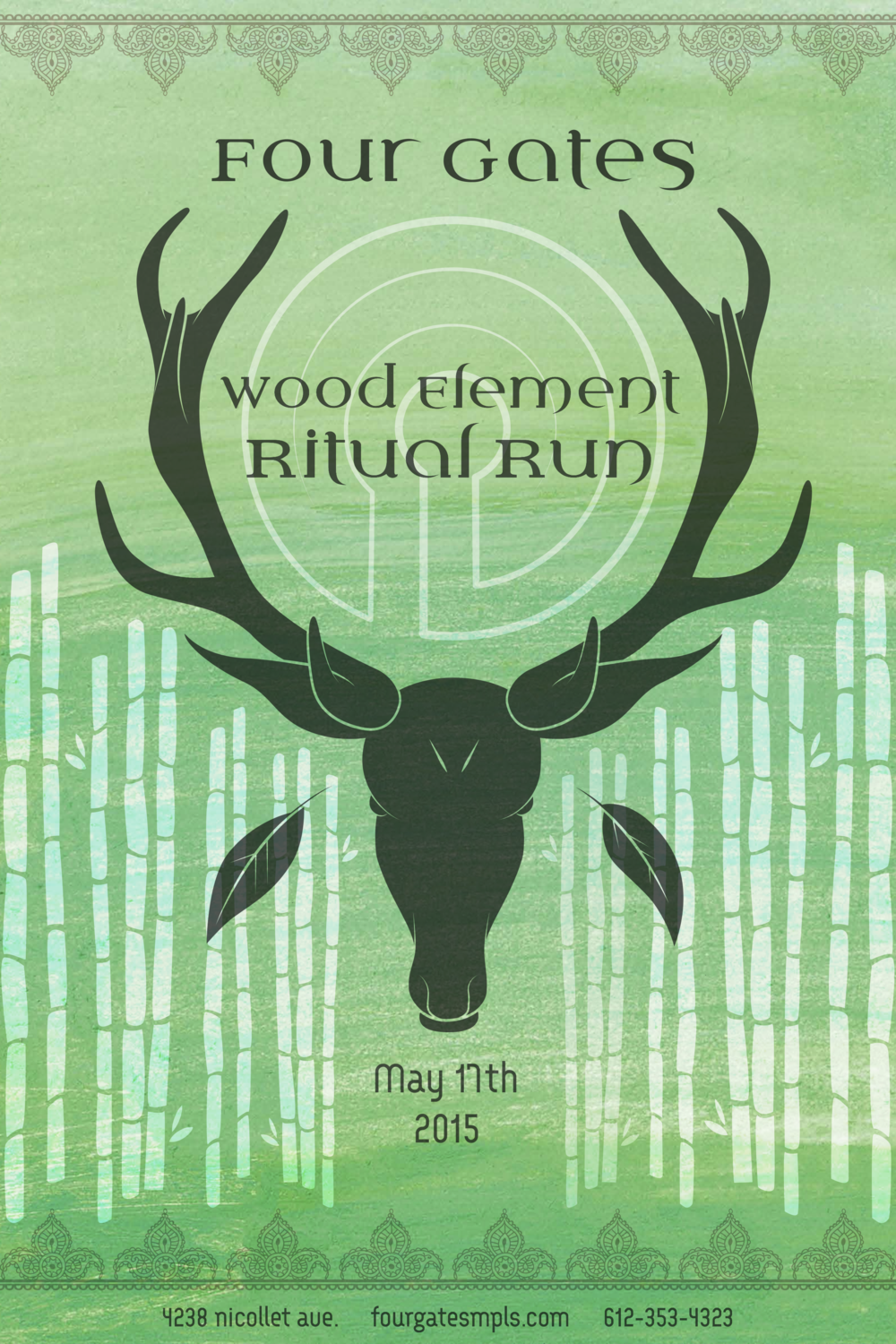 Join us for our annual Wood Element Ritual Run! Click here to read more....