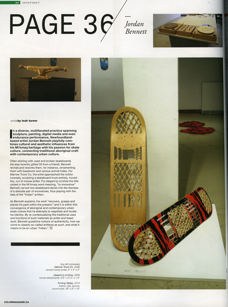 Color Skateboard MAG