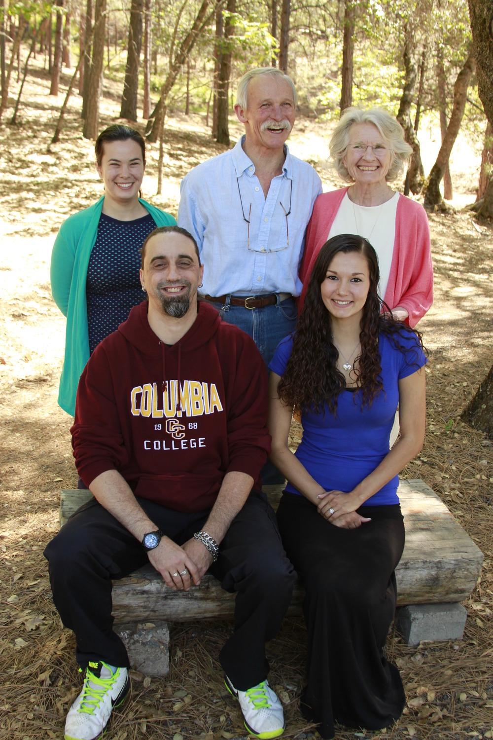 Future Promise 2015 recipients Orpheus Buster Brown and Jessie K. Perez (front row) with Nalatie Alpers, Ted Hamilton and Paula Clarke (back row).