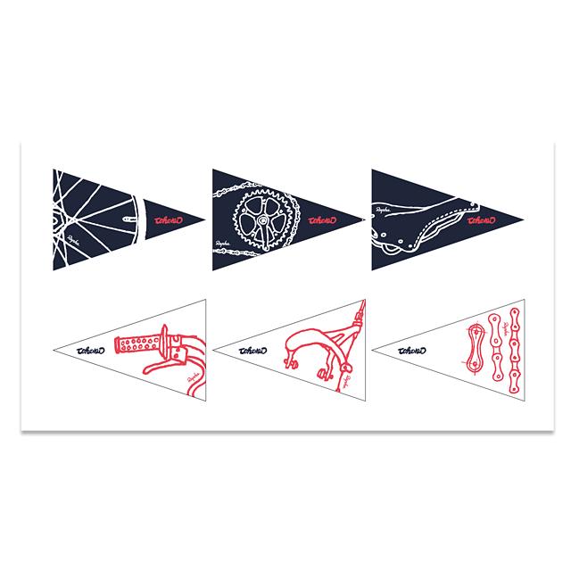 Rapha Bike Flags