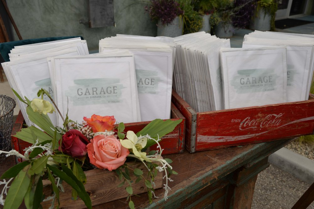 The Garage Burbank Client Packets CW Designs