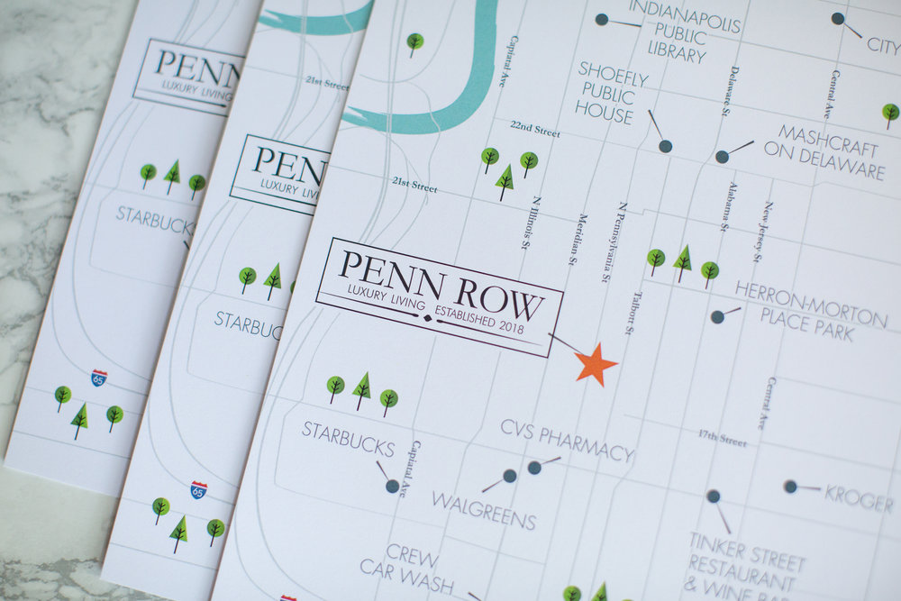 CW Designs Real Estate Penn Row Litz Realty Map