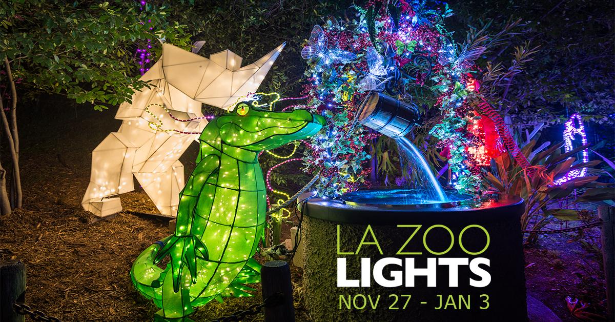 L.A. ZOO LIGHT SHOW Design