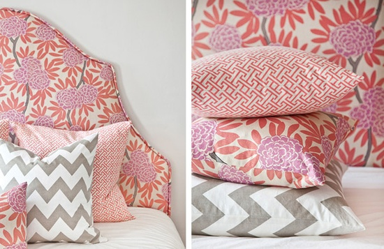 Caitlin Wilson textiles are prefect for heart day decor