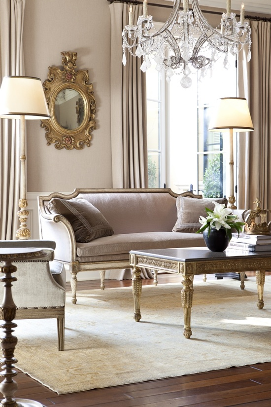 Pretty nude tones in a traditional/ transitional setting
