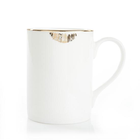 reiko caneko lip tease mug in gold
