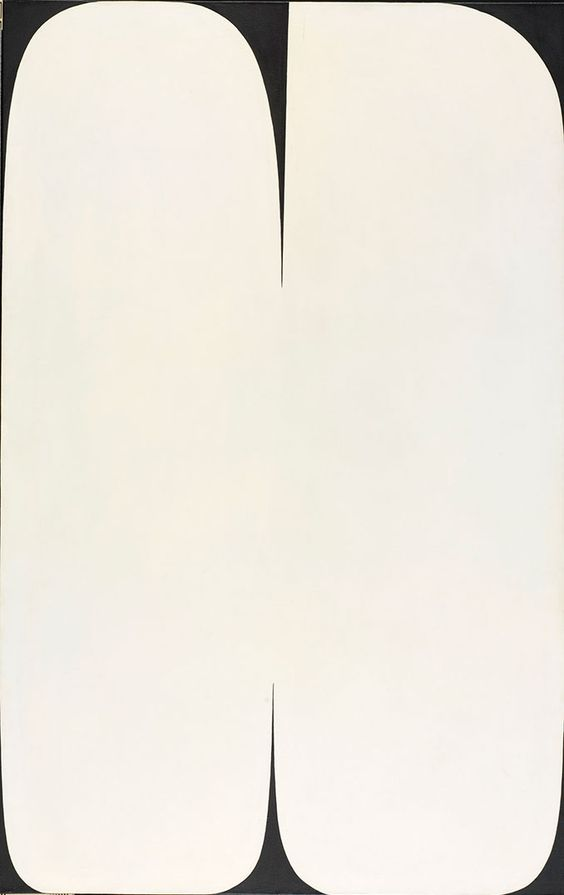 Pole  , Ellsworth Kelly. 1957