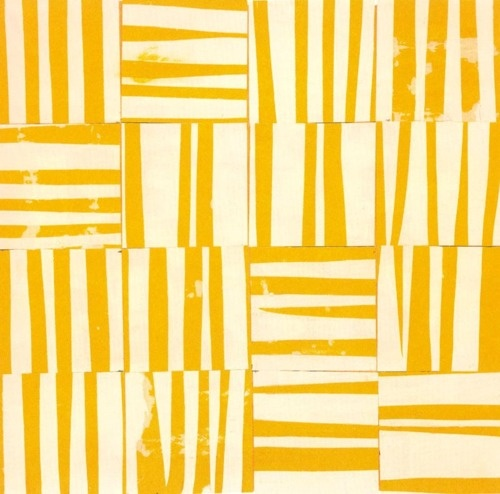Study for  Yellow white,  1951.