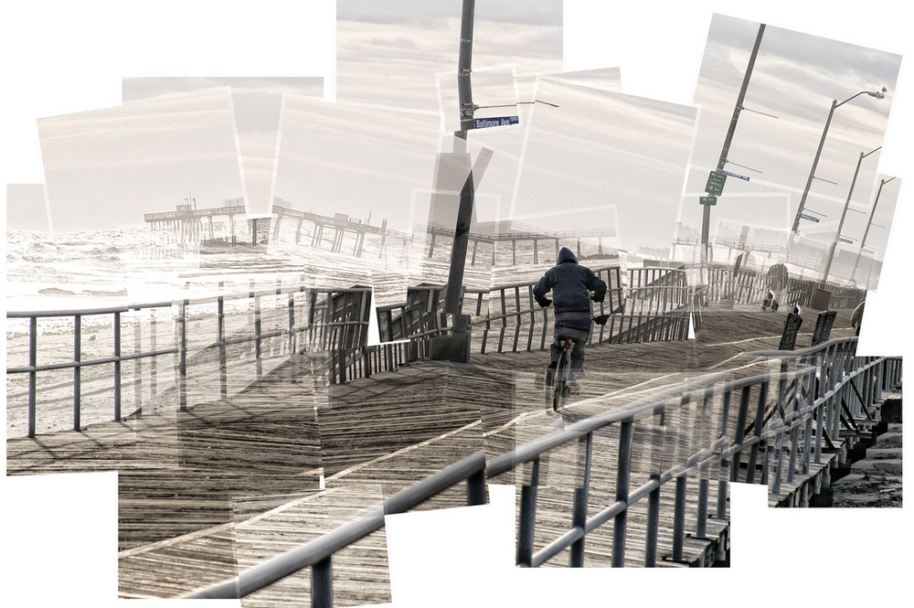 Boardwalk confusion by Robert Bruce Murray III // Sort Of Natural